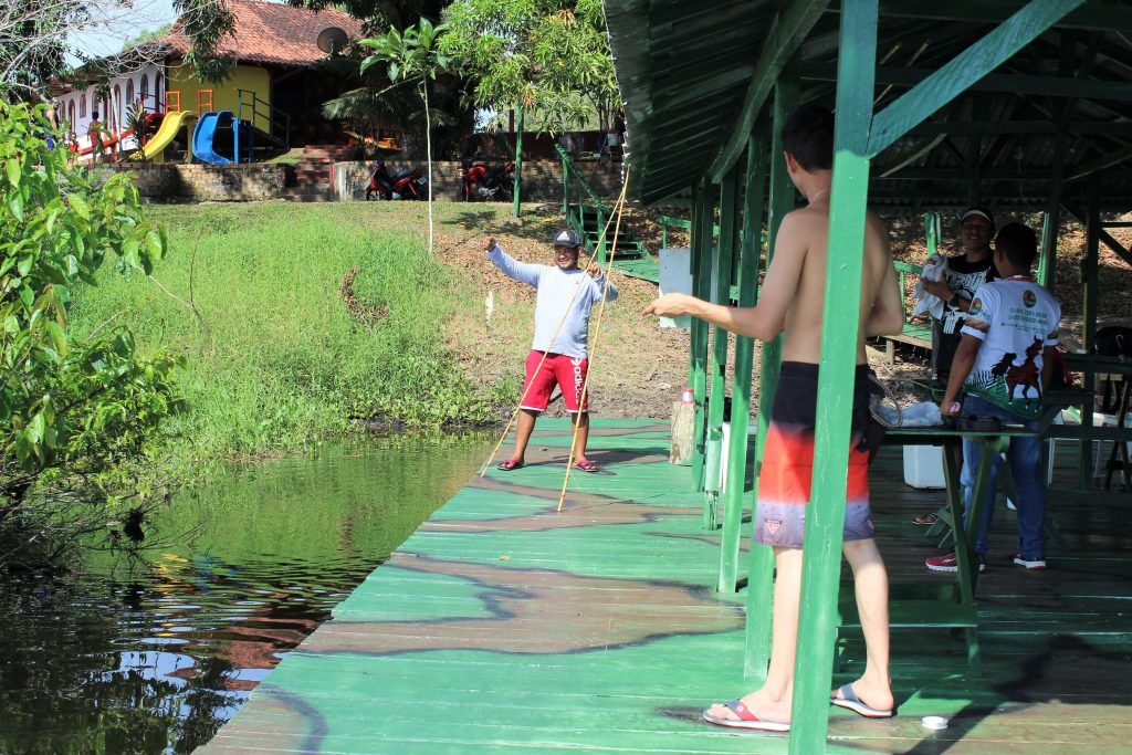 a balsa de pesca do paraiso