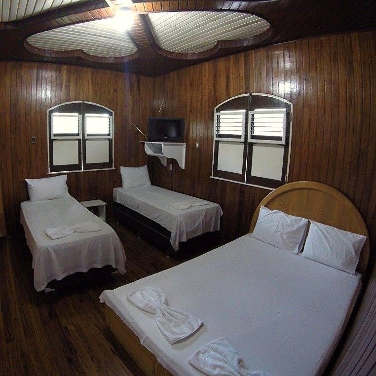 quarto do hotel fazenda paraíso dangelo